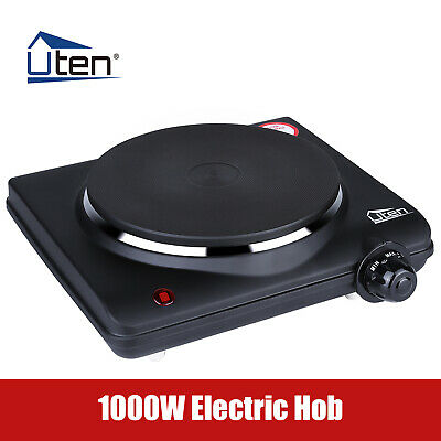 £17.99 • Buy Uten Electric Hobs Cooker Stove 1000W Hot Plate Portable Burner Stove Kitchen