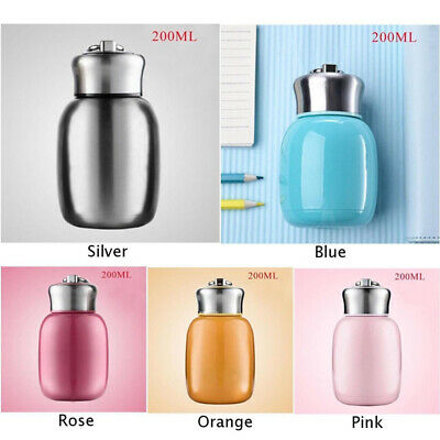 £8.64 • Buy 200ML Stainless Vacuum Flask Insulated Thermos Cup Mini Water Bottle PF