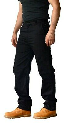 £10.79 • Buy  Mens Cargo Combat Casual Work Trousers Pants 6 Pocket Design 30W To 42W Turners