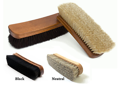 £5.29 • Buy 2Pcs SHOE BRUSHES Traditional Boot Polish Buffing Buff Shine Leather Clean Smart