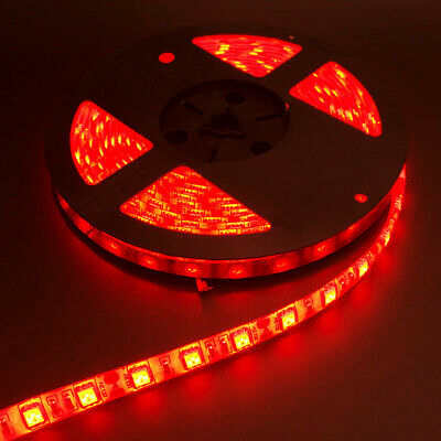 $10.27 • Buy US 16FT Red 5050 300 LED TV Light Strip Waterproof 12V Home Party Xmas Lamp Tape
