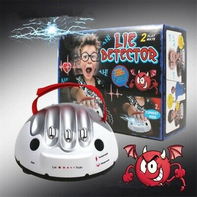 £11.99 • Buy Test Truth Dare Toys Polygraph Shocking Liar Micro Electric Lie Detector Games ~