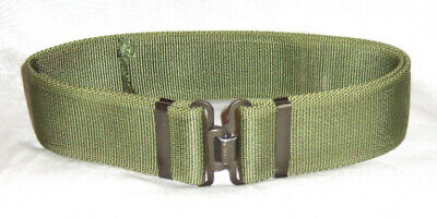 £10.99 • Buy British Army And Air Cadet, Olive Green Working Belt, Genuine Issue