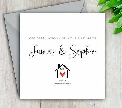 £3.95 • Buy First Home Card, New Home, Congratulations, Moving, Personalised And Handmade