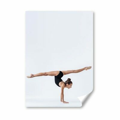 £8.99 • Buy A3 - Gymnast Gym Yoga Exercise Fitness Poster 29.7X42cm280gsm #45270
