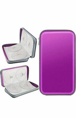 £10 • Buy CD Storage CD Case COOFIT DVD Storage Sleeve 80 Capacity DVD Case VCD Wallets...