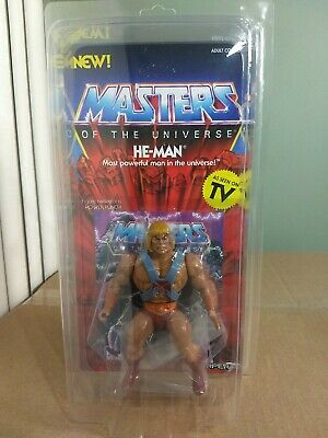 $40.99 • Buy Super7 Masters Of The Universe Vintage Series He-Man With Protective Case