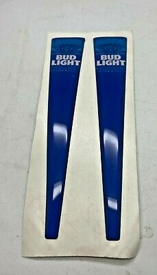 $ CDN15.56 • Buy One Pair Of Bud Light Lager Tap Handle Stickers - Font Bar Pub Home Beer Pouring