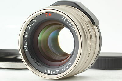 $ CDN509.06 • Buy 【Mint】 Contax Carl Zeiss Planar T* 45mm F/2 Prime G Lens For G1 G2 From JAPAN