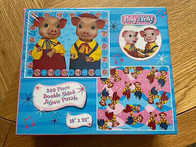 £12 • Buy Rare Sealed Pinky & Perky Jigsaw Puzzle New And Sealed 200 Piece