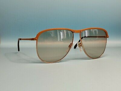 £64.73 • Buy Vintage Rodenstock Curacao Oversized Metal Sunglasses Glass Lenses Germany #633