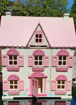 £15 • Buy ELC Wooden Dolls House - Country Cottage