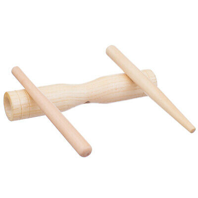£4.47 • Buy Wooden Toy Percussion Rhythm W Stick Children Musical Instrument Toy