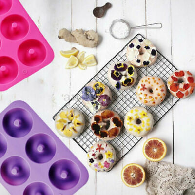 AU20.05 • Buy New Silicone Donut Muffin Chocolate Cake Cookie Cupcake Baking Mould Tray