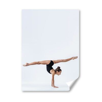 £4.99 • Buy A4 - Gymnast Gym Yoga Exercise Fitness Poster 21X29.7cm280gsm #45270