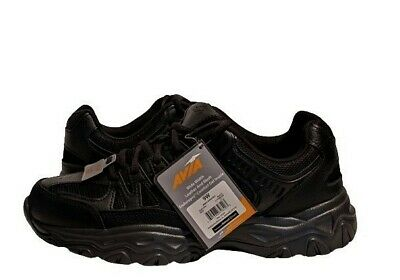 £15.82 • Buy Avia Walker Leather & Mesh Lace Up Wide Width Enduropro Athletic Shoes 9W Black