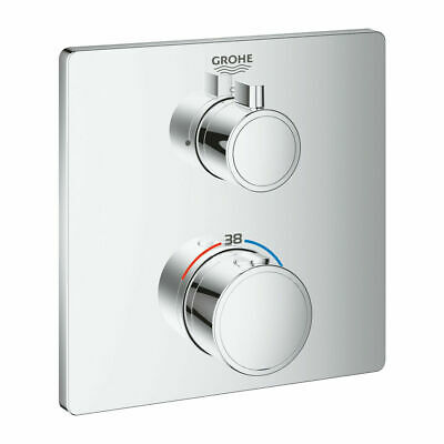£179.76 • Buy GROHE 24078000 Grohtherm Thermostatic Mixer For 1 Outlet With Shut-off Valve NEW