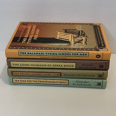 AU13.60 • Buy Lot Of 4 Alexander McCall Smith Books - VG HC - No 1 Ladies Detective Agency