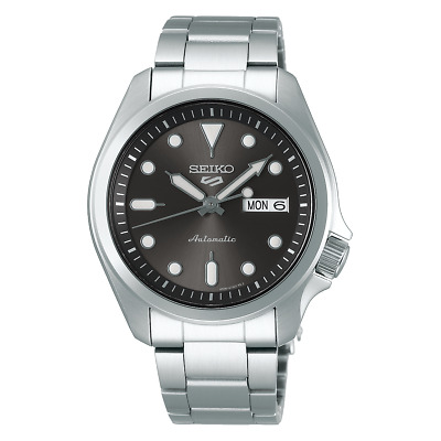 $ CDN237.92 • Buy Seiko 5 Sports 40mm Full Stainless Steel Grey Dial Automatic Watch - SRPE51K1