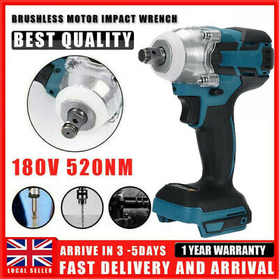 £19.99 • Buy Replace For MAKITA Impact Wrench Cordless Brushless 18V 1/2  Driver New