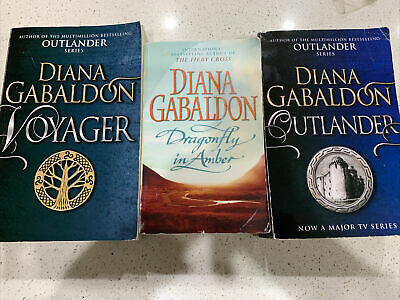 AU28 • Buy Outlander Series Books 1-3 By Diana Gabaldon Voyager Dragonfly In Amber # 1