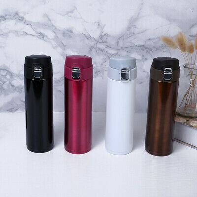 £14.38 • Buy 500ML Stainless Vacuum Flask Water Bottle Insulated Thermos Cup Mini