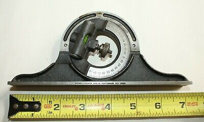 $35 • Buy I) Vintage BROWN & SHARPE PROTRACTOR HEAD FOR 12  COMBINATION SQUARE Machinist