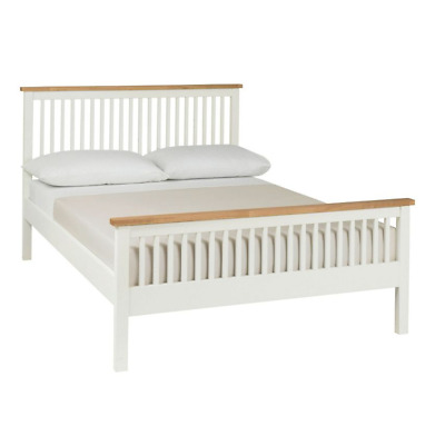 AU208.99 • Buy White Timber Wooden Bed Frame Queen Double Single Full Size Mattress Base