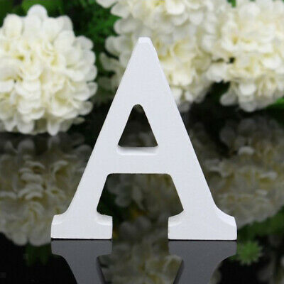 £4.67 • Buy Wooden Alphabet DIY Block Words Sign Hanging Decor Letter For Home Office, A