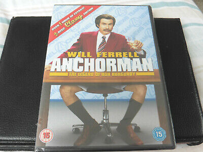 £1.69 • Buy Anchorman - The Legend Of Ron Burgundy - Will Ferrell - 2004 Dvd - New / Sealed