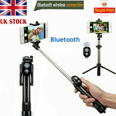 £9.99 • Buy Telescopic Selfie Stick Bluetooth Tripod Monopod Phone Holder For IPhone Android