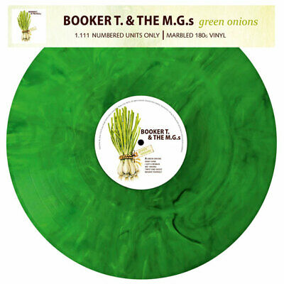 £20.50 • Buy GREEN ONIONS By BOOKER T & THE MGS Vinyl LP  3626 Marble Green Colour