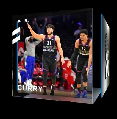 $99.99 • Buy Seth Curry NBA Topshot Moment - NFT Blockchain #30574/40000-Offers Welcome