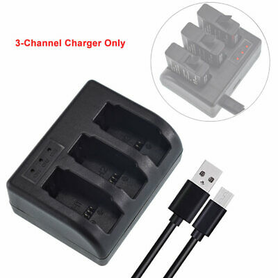 $ CDN10.42 • Buy 3-Channel USB Battery Charger For Gopro HERO7 Black - AABAT-001, AHDBT-501