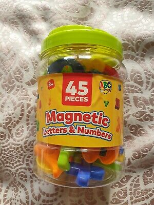 £3 • Buy 45 Magnetic Letters And Numbers