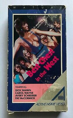 $ CDN24.99 • Buy Best Chest In The West VHS Active Home Video Dick Shawn Carol Wayne 80s NTSC