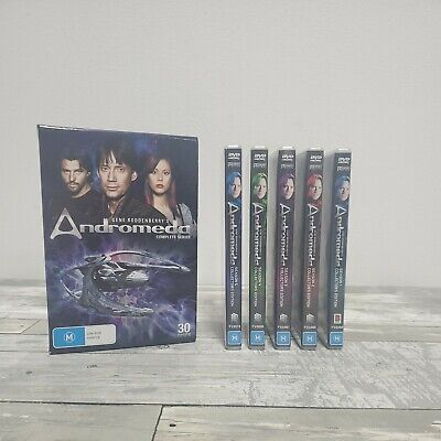£39.52 • Buy Gene Roddenberry's Andromeda Complete Series - Seasons 1-5: Collector's Edition