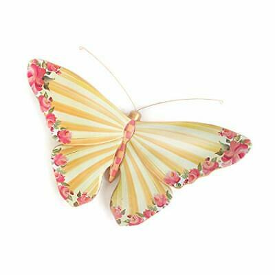 $135.92 • Buy MacKenzie-Childs Striped Awning Butterfly Wall Decoration