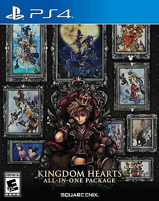 AU54 • Buy KINGDOM HEARTS All-In-One Package PS4 Playstation 4 Brand New