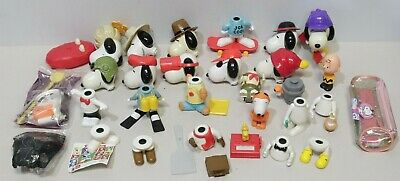 £4.95 • Buy Large Job Lot McDonalds 2000 Happy Meal Large Snoopy & Charlie Brown Toys -206