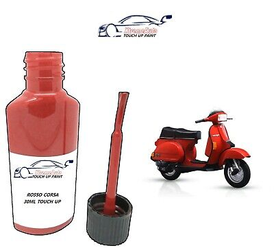 £6.50 • Buy Piaggio Vespa Rosso Corsa - P2/5 Paint Touch Up Kit 30ml Motorbike Scooter Bike