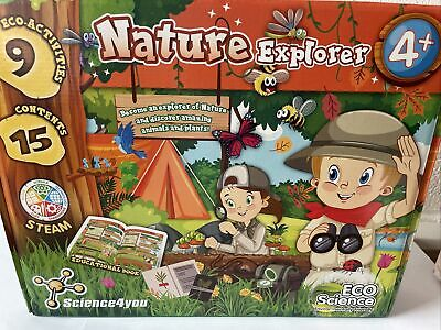 £15.99 • Buy Science 4 You 'Nature Explorer' STEM Eco Science Kit For Kids 918925.006 Ages 4+