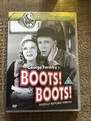 £6.85 • Buy Boots! Boots! 1934 (R2 UK DVD) George Formby Musical Comedy Film - Betty Driver