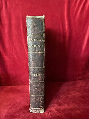 £20 • Buy Sunday At Home 1889 Beautiful Illustrated Bound Book By Religious Tract Society