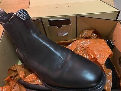 AU345 • Buy RM Williams Comfort Craftsman Black/Yearling Boots 10 F