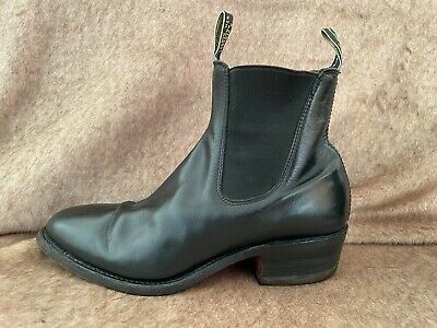 AU107.50 • Buy RM WILLIAMS BLACK YEARLING BOOTS Size 71/2 G  NMH  Rrp $595
