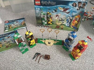 $ CDN17.31 • Buy Harry Potter Lego Quidditch Match Set 75956 2 Books And Box