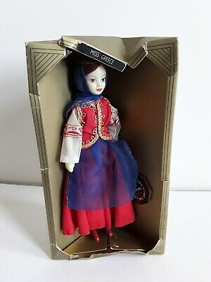£3.99 • Buy Vintage Rexard Costume Doll. Miss Greece With Tags