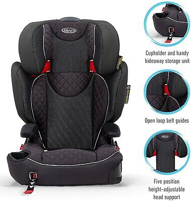 £54.95 • Buy Graco Affix High Back Booster Car Seat With ISOCATCH Connectors, Group 2/3 NEW