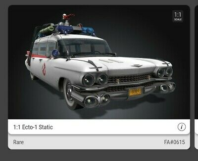 £150 • Buy Ghostbusters Ecto 1 VeVe NFT Rare #615